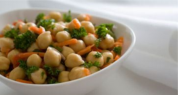 More chickpeas on your plate!